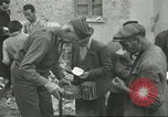 Image of Italian refugees Cassino Italy, 1944, second 38 stock footage video 65675061477