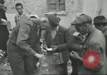 Image of Italian refugees Cassino Italy, 1944, second 39 stock footage video 65675061477