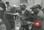 Image of Italian refugees Cassino Italy, 1944, second 41 stock footage video 65675061477