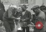 Image of Italian refugees Cassino Italy, 1944, second 42 stock footage video 65675061477