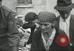 Image of Italian refugees Cassino Italy, 1944, second 43 stock footage video 65675061477