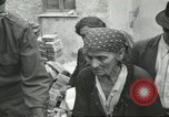 Image of Italian refugees Cassino Italy, 1944, second 44 stock footage video 65675061477