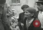 Image of Italian refugees Cassino Italy, 1944, second 46 stock footage video 65675061477