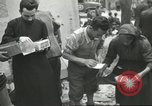 Image of Italian refugees Cassino Italy, 1944, second 50 stock footage video 65675061477