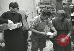 Image of Italian refugees Cassino Italy, 1944, second 52 stock footage video 65675061477