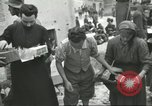 Image of Italian refugees Cassino Italy, 1944, second 53 stock footage video 65675061477
