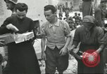 Image of Italian refugees Cassino Italy, 1944, second 54 stock footage video 65675061477