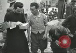 Image of Italian refugees Cassino Italy, 1944, second 56 stock footage video 65675061477