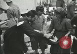 Image of Italian refugees Cassino Italy, 1944, second 58 stock footage video 65675061477