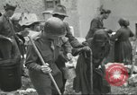 Image of Italian refugees Cassino Italy, 1944, second 60 stock footage video 65675061477