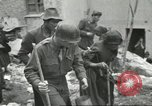 Image of Italian refugees Cassino Italy, 1944, second 61 stock footage video 65675061477