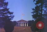 Image of casket of Richard Byrd Virginia United States USA, 1957, second 17 stock footage video 65675061480