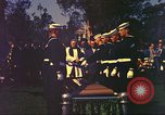 Image of casket of Richard Byrd Virginia United States USA, 1957, second 51 stock footage video 65675061480