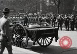 Image of funeral procession of John Mitchel New York City USA, 1918, second 30 stock footage video 65675061484