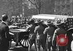 Image of funeral procession of John Mitchel New York City USA, 1918, second 46 stock footage video 65675061484