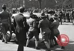 Image of funeral procession of John Mitchel New York City USA, 1918, second 52 stock footage video 65675061484
