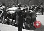 Image of funeral procession of John Mitchel New York City USA, 1918, second 55 stock footage video 65675061484
