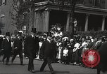 Image of John Mitchel's funeral procession New York City USA, 1918, second 50 stock footage video 65675061485