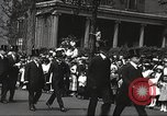 Image of John Mitchel's funeral procession New York City USA, 1918, second 51 stock footage video 65675061485