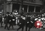 Image of John Mitchel's funeral procession New York City USA, 1918, second 52 stock footage video 65675061485