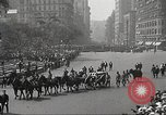 Image of John Mitchel's funeral procession New York City USA, 1918, second 58 stock footage video 65675061485
