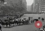 Image of John Mitchel's funeral procession New York City USA, 1918, second 59 stock footage video 65675061485