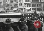Image of John Mitchel's funeral procession New York City USA, 1918, second 43 stock footage video 65675061486