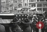 Image of John Mitchel's funeral procession New York City USA, 1918, second 44 stock footage video 65675061486