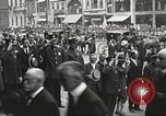 Image of John Mitchel's funeral procession New York City USA, 1918, second 50 stock footage video 65675061486