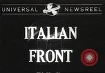 Image of United States soldiers Italy, 1944, second 1 stock footage video 65675061496