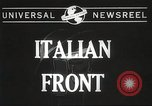 Image of United States soldiers Italy, 1944, second 4 stock footage video 65675061496