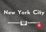 Image of paper airplanes New York City USA, 1967, second 2 stock footage video 65675061510