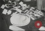 Image of paper airplanes New York City USA, 1967, second 4 stock footage video 65675061510