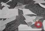 Image of paper airplanes New York City USA, 1967, second 11 stock footage video 65675061510