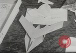 Image of paper airplanes New York City USA, 1967, second 14 stock footage video 65675061510