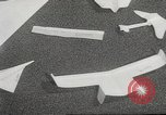 Image of paper airplanes New York City USA, 1967, second 49 stock footage video 65675061510