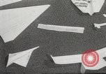 Image of paper airplanes New York City USA, 1967, second 50 stock footage video 65675061510
