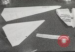 Image of paper airplanes New York City USA, 1967, second 52 stock footage video 65675061510