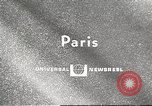 Image of fashion show Paris France, 1967, second 1 stock footage video 65675061511