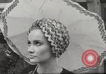 Image of fashion show Paris France, 1967, second 28 stock footage video 65675061511