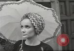 Image of fashion show Paris France, 1967, second 29 stock footage video 65675061511