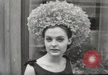 Image of fashion show Paris France, 1967, second 39 stock footage video 65675061511