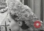Image of fashion show Paris France, 1967, second 49 stock footage video 65675061511