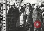 Image of prisoners Poland, 1945, second 4 stock footage video 65675061516