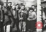 Image of prisoners Poland, 1945, second 16 stock footage video 65675061516