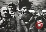 Image of prisoners Poland, 1945, second 18 stock footage video 65675061516