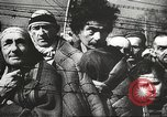 Image of prisoners Poland, 1945, second 21 stock footage video 65675061516