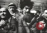 Image of prisoners Poland, 1945, second 22 stock footage video 65675061516
