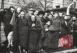 Image of prisoners Poland, 1945, second 23 stock footage video 65675061516