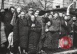 Image of prisoners Poland, 1945, second 25 stock footage video 65675061516